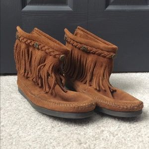 Women Minnetonka booties